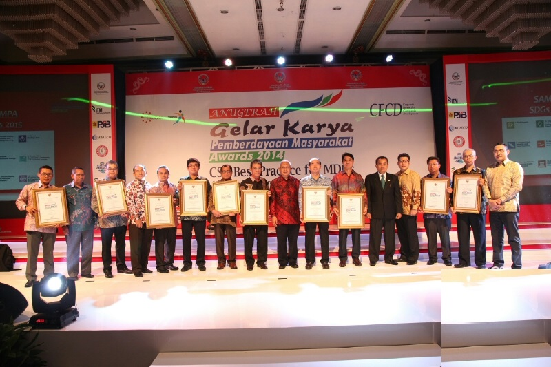 Kideco Raih Indonesian CSR Award 2014